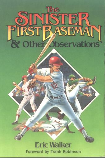Book cover image, The Sinister First Baseman